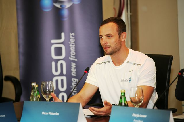 Oscar Pistorius Doha December 12 2012