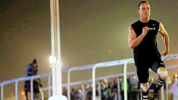 Oscar Pistorius racing horse Doha December 12 2012