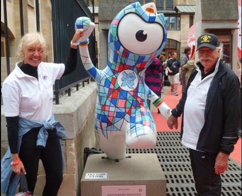 Ralph C Bender with Wenlock 2
