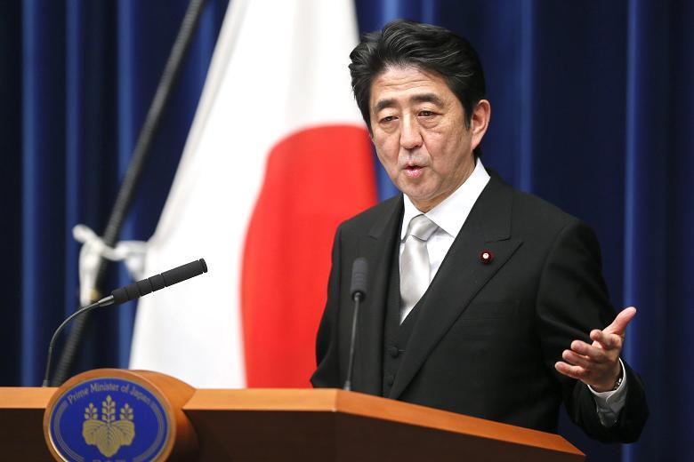 Shinzo Abe December 2012