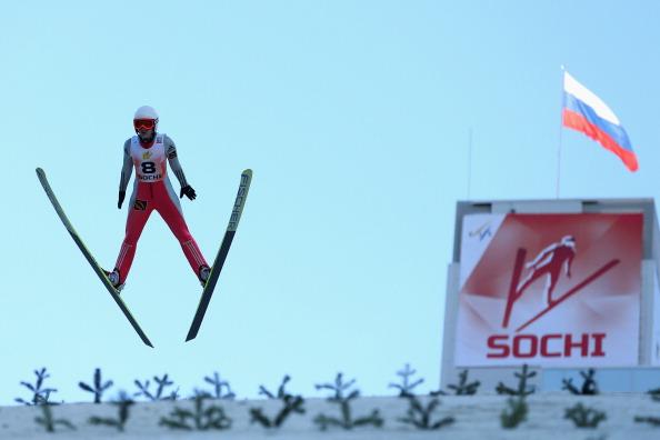 Sochi ski jumping
