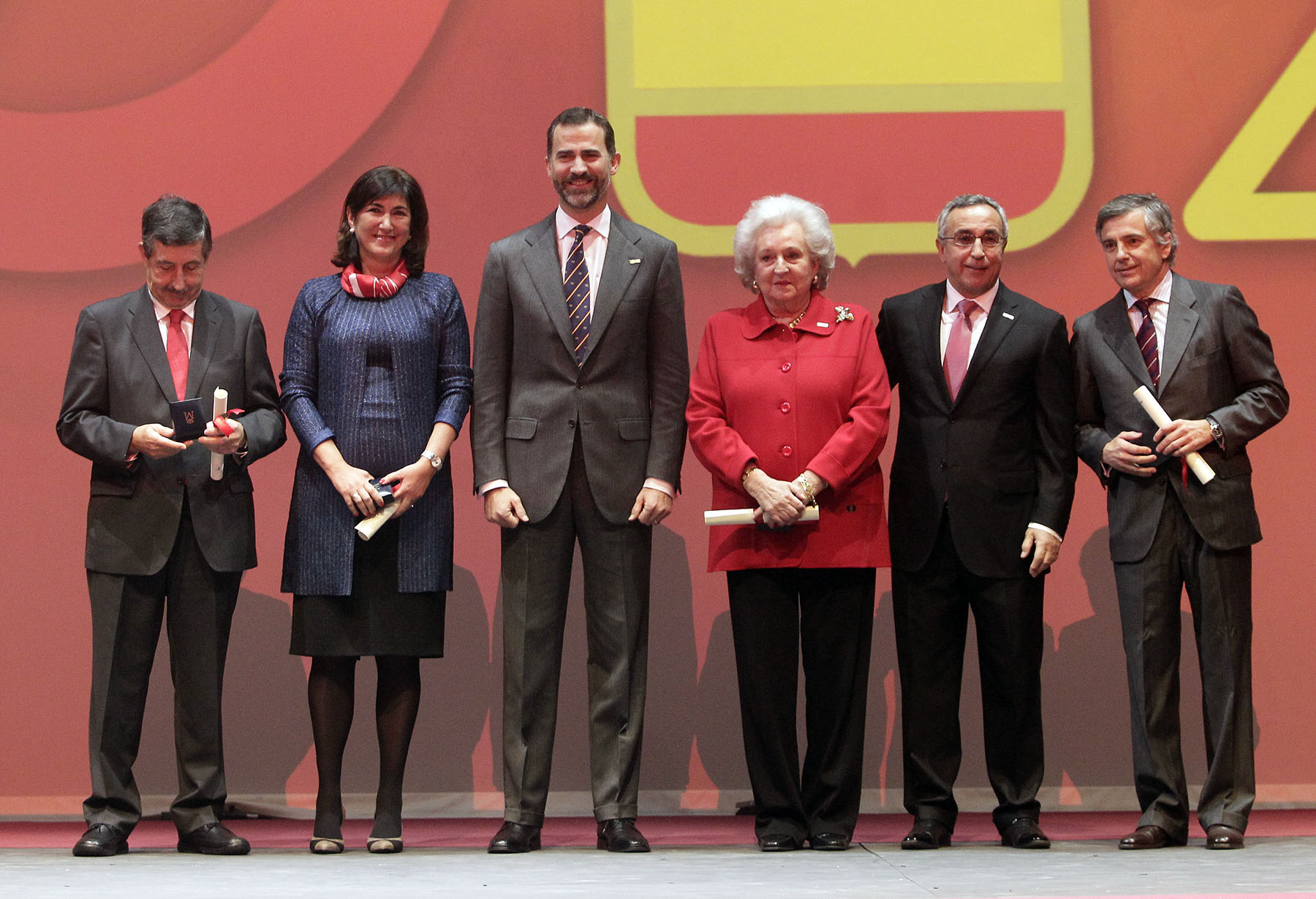 Spanish Olympic Committee centenary celebration Madrid December 12 2012