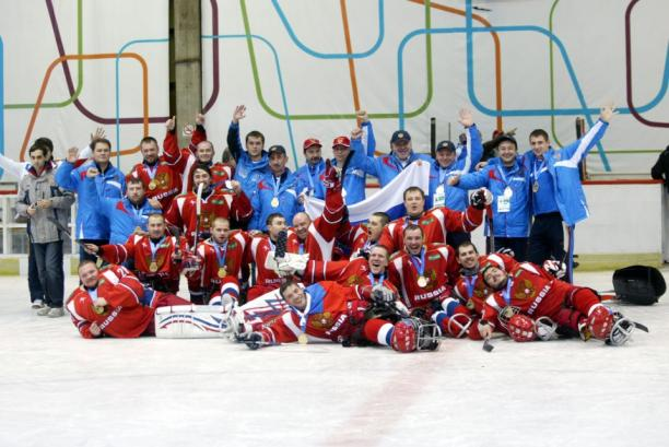 russia ice sledge hockey team