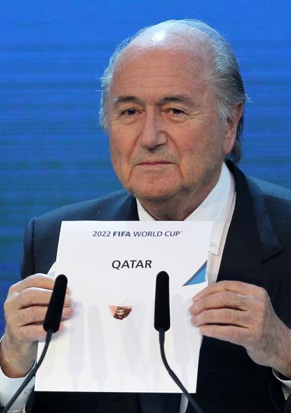sepp blatter qatar 2022