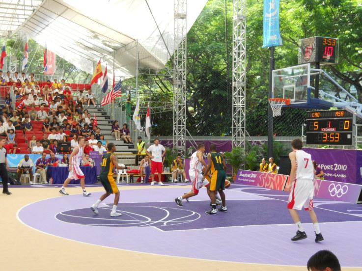 singapore 2010 3x3 basketball