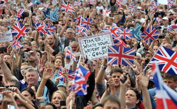 team gb london 2012 olympic fans