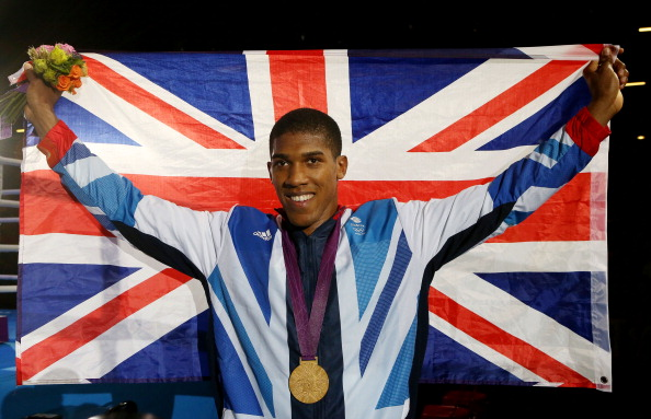 Anthony Joshua 210113