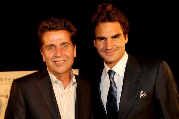 Brad Drewett Roger Federer