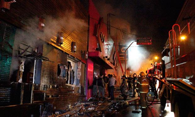 Brazil fire in nightclub January 27 2013
