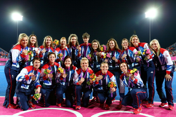 Craig Parnham helped lead the British womens hockey team to a bronze medal at the London 2012 Olympic Games