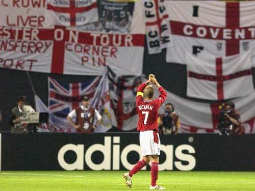 David Beckham at Sapporo Dome