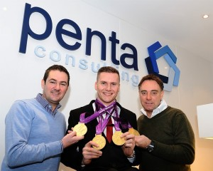 David Weir signs sponsorship deal with Penta Consulting