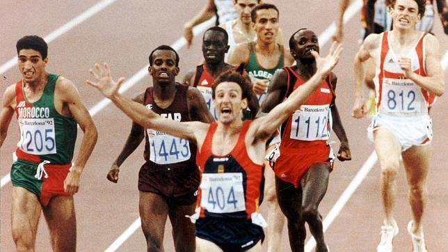 Fermin Cacho wins Olympic 1500m Barcelona 1992