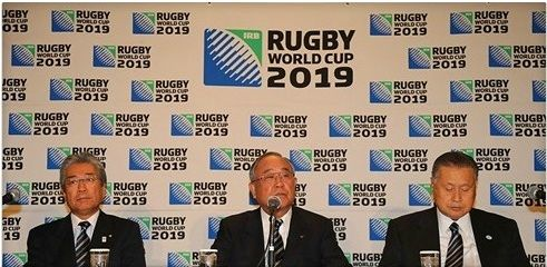 Fujio Mitarai at Japan 2019 press conference