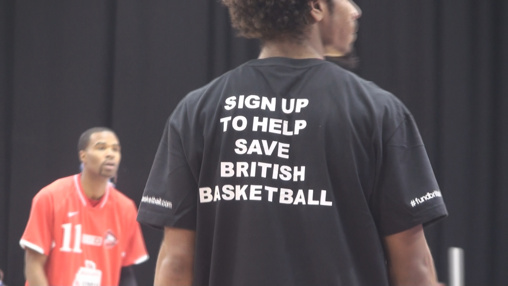 Fund British Basketball Connor Washington