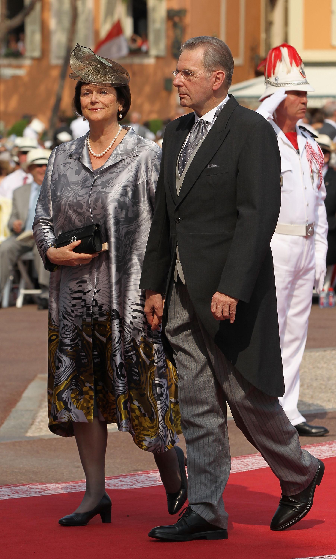 Jacques Rogge at Prince Albert wedding