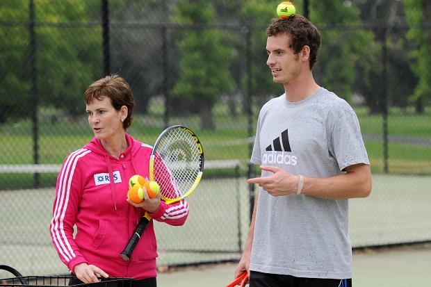 Judy and Andy Murray