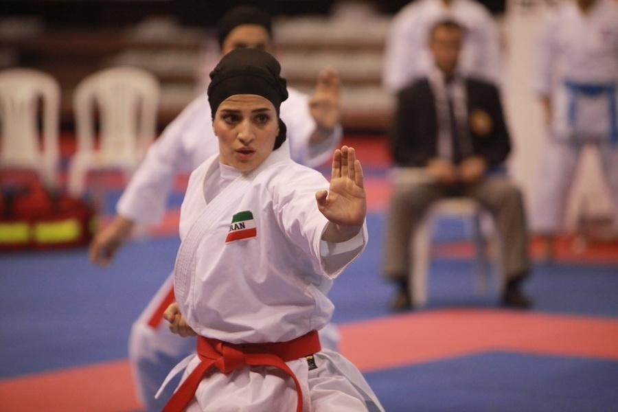 Karate hijab