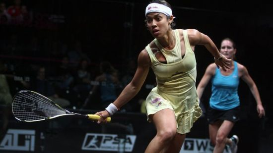 Nicol David of Malaysia claimed the womens trophy at the 2013 World Series Squash Finals to retain the title she won last year