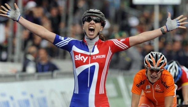 Nicole Cooke wins world title 2008