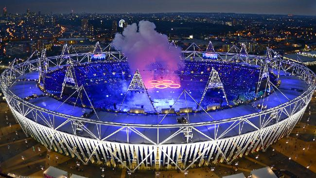 Olympic Stadium Ceremony