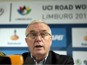 Pat McQuaid at press conference