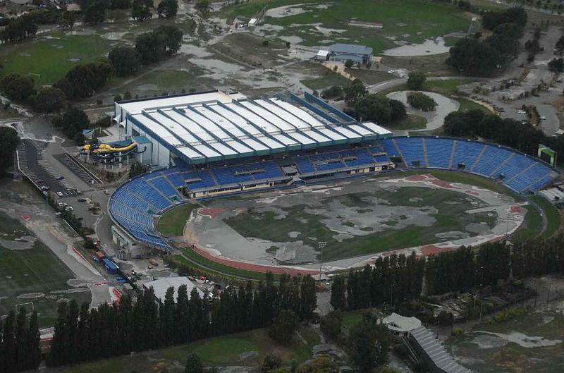 Queen Elizabeth II Stadium new zealand post earthquake