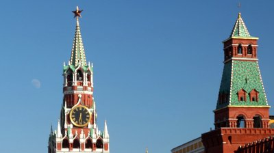 Red Square clock