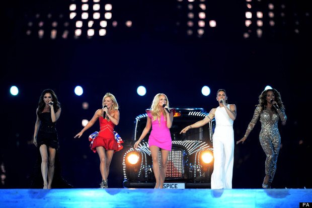 Spice Girls at London 2012
