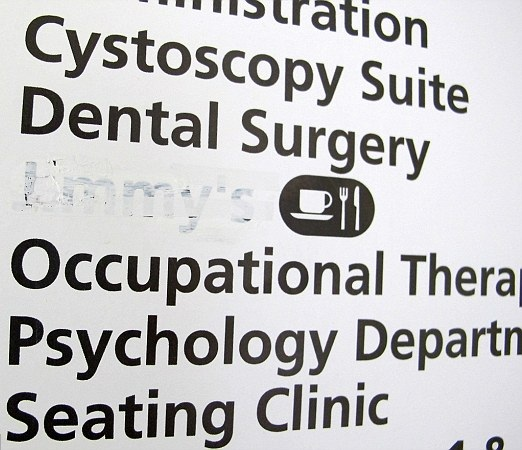 Stoke Mandeville hospital pic