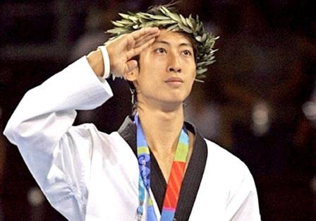 Taekwondo athlete