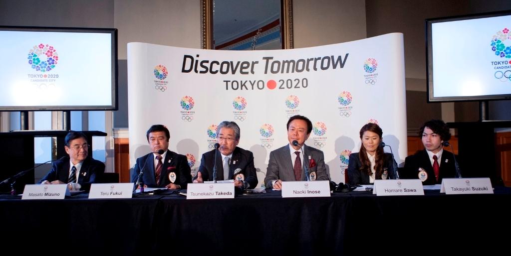 Tokyo 2020 bid team at London January 10 2013