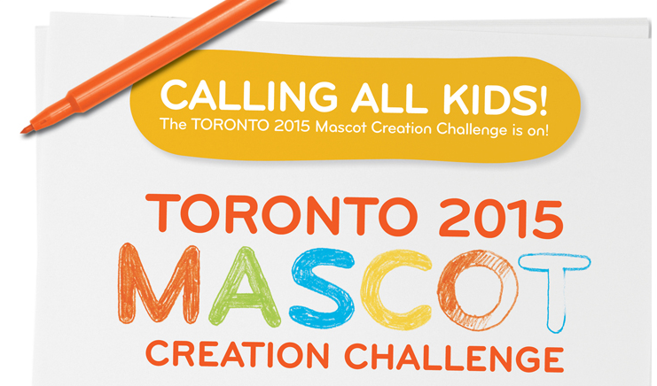 Toronto 2015 macot challenge