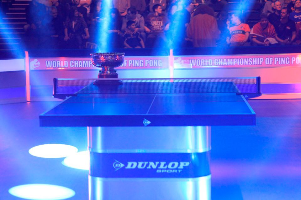 World Championship of Ping Pong trophy