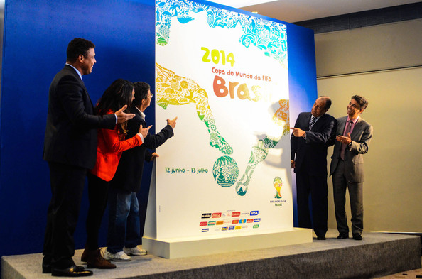 Brazil 2014 World Cup poster launched Rio de Janeiro January 30 2013