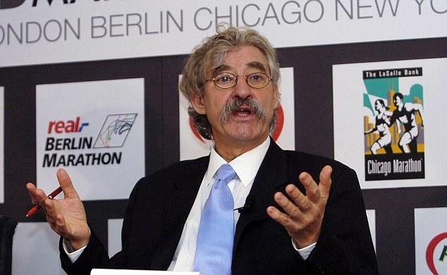 David Bedford at press conference