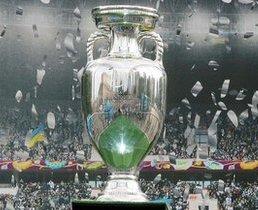 Euro football trophy