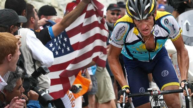 Lance Armstrong Tour de France 2009