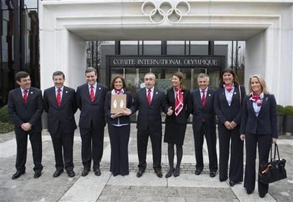 Madird 2020 present bid book Lausanne January 7 2013