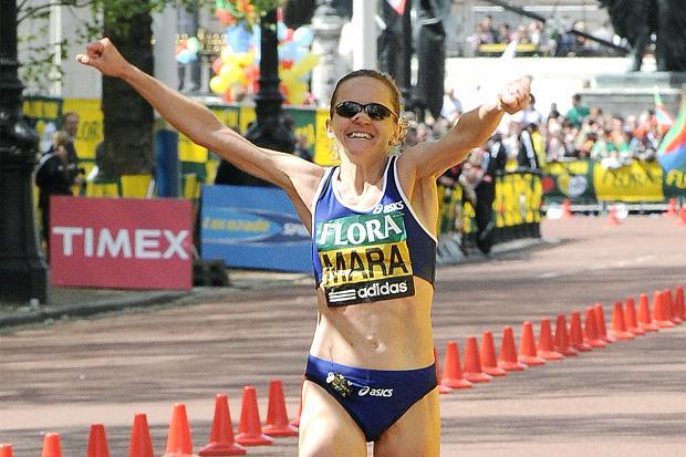 Mara Yamauchi London Marathon 2010