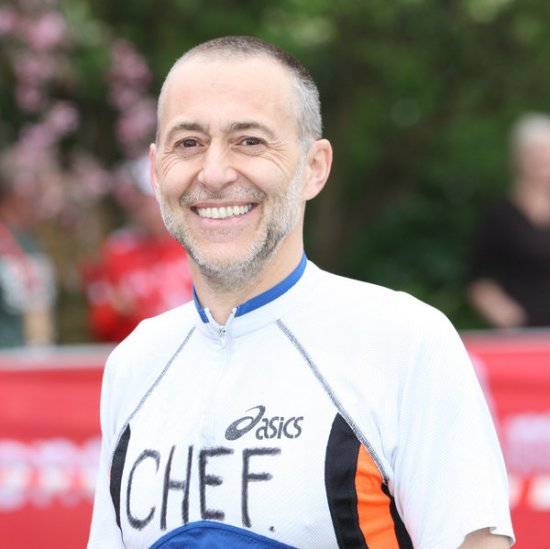 Michel Le Roux at London Marathon