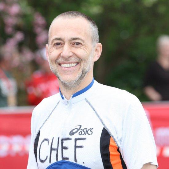 Michel Le Roux at London Marathon