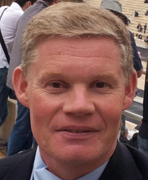 Philip Barker head and shoulders