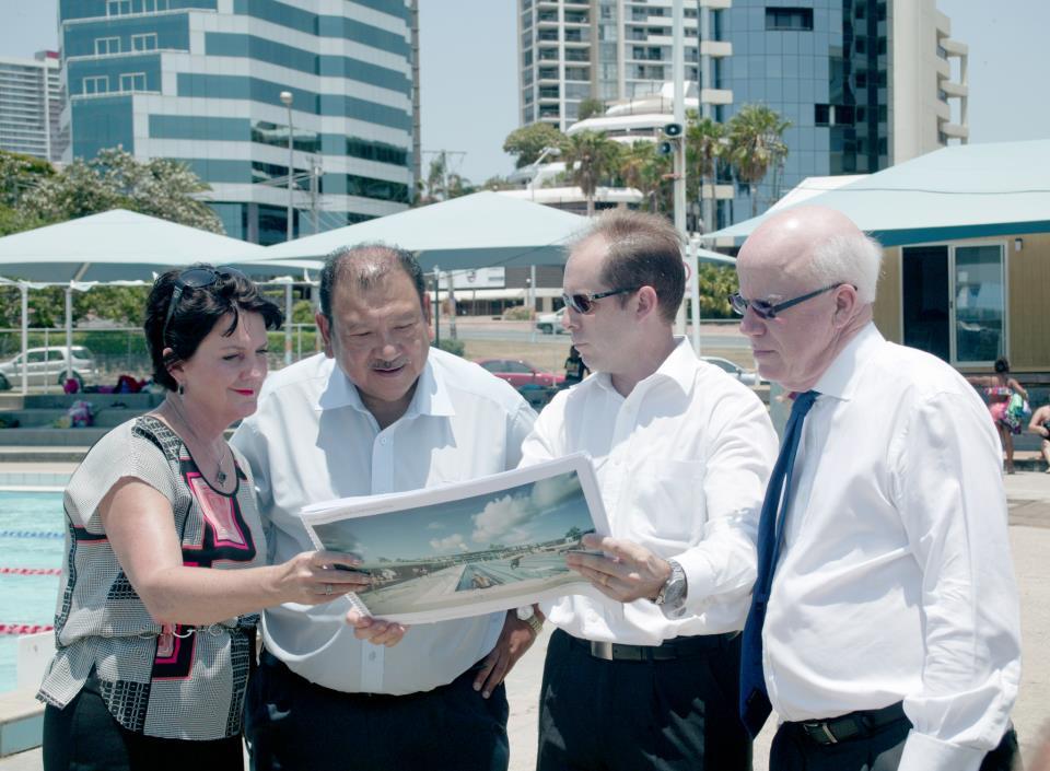 Prince Tunku visits Gold Coast 2018 January 18 2013