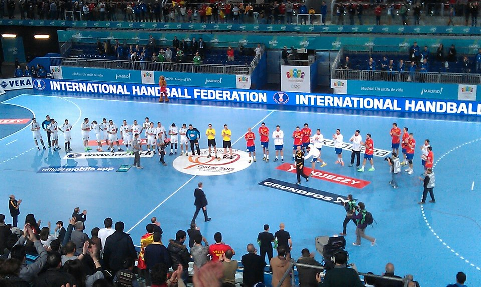 World Handball Championships Madrid January 11 2013