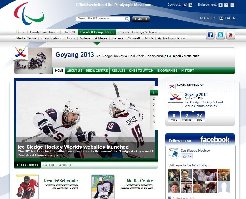 wwwicesledgehockeyworldsorg