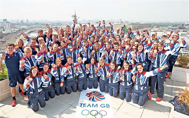 Andy Hunt was Chef de Mission of the most successful British Olympic team in more than a century