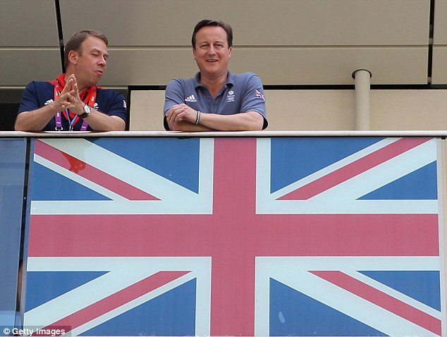 Andy Hunt with David Cameron