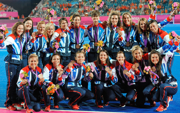 Britain won a bronze medal at the London 2012 Olympics