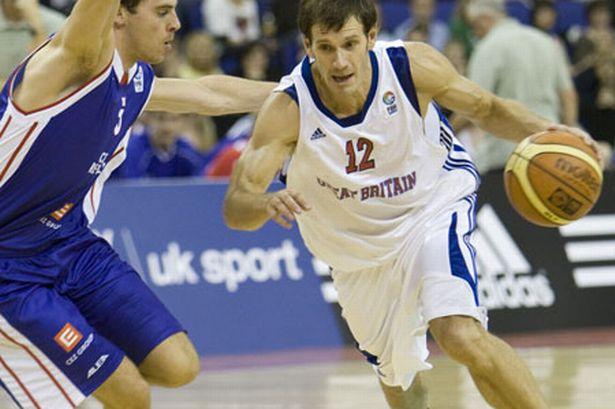 British Basketball with UK Sport logo